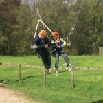 Winmarleigh Hall - the giant swing!