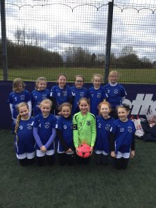 Y5 girls football team